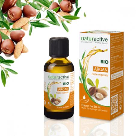 Naturactive BIO Huile végétale ARGAN 50 ml