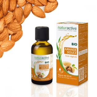 Naturactive Huile végétale AMANDE DOUCE BIO 50 ml