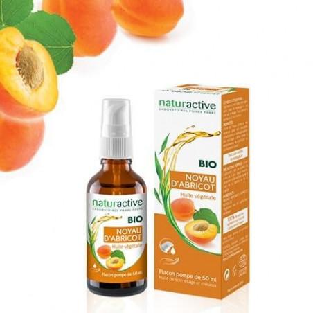 Naturactive BIO Huile végétale NOYAU D'ABRICOT 50 ml