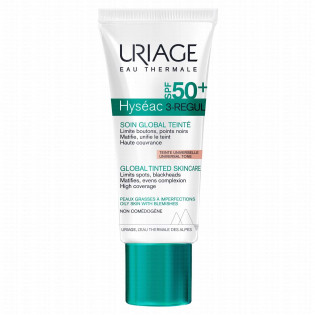 URIAGE Hyséac 3-REGUL Soin Global Teinté SPF 50+ 40 ml