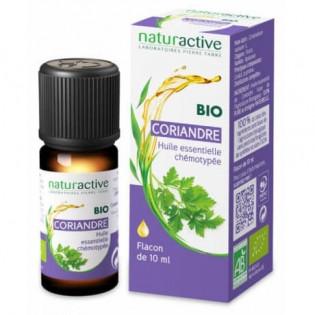 NATURACTIVE BIO Huile Essentielle Coriandre 10 ml