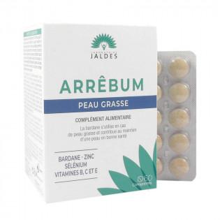 Arrebum Peau grasse 60 comprimés