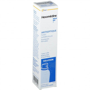 Hexomédine Solution en spray 75 ml
