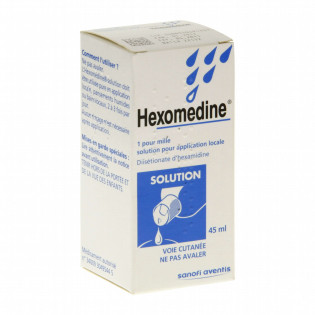Hexomédine Solution 250 ml