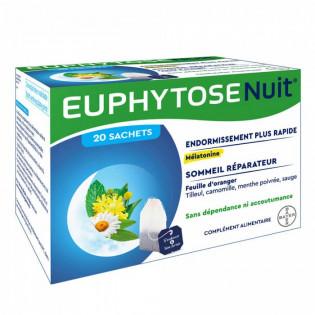 Euphytose Nuit 20 sachets à Infuser