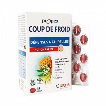 Propex Coup de Froid 45 comprimés ORTIS