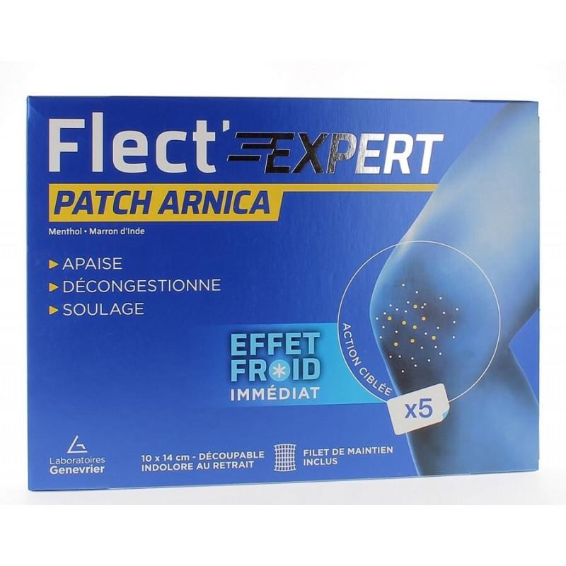 Flect'Expert Patch Arnica Effet froid imédiat x5