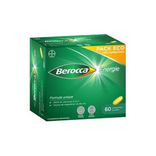 BEROCCA ENERGIE 60 COMPRIMES PELLICULES
