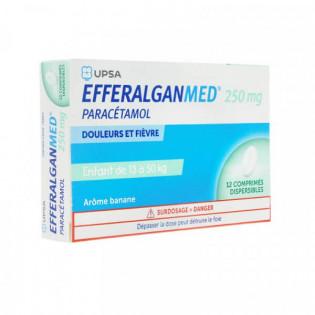 Efferalgan MED 250 mg 12 comprimés dispersibles