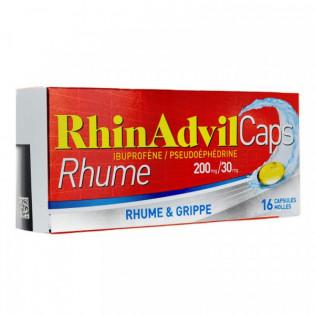 RHINADVIL CAPS 16 CAPSULES MOLLES
