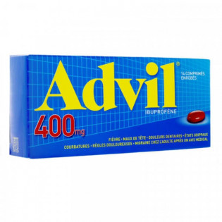 Advil 400 mg 14 comprimés