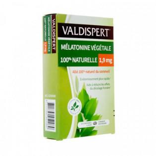 Valdispert Mélatonine Végétale 1,9 mg 20 comprimés