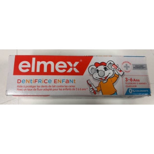 Elmex Dentifrice Enfant. Tube 50ML