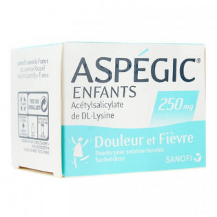 Aspégic Enfants 250 mg 20 sachets
