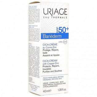 Uriage Bariéderm Cica-Crème SPF50+ 40 ml