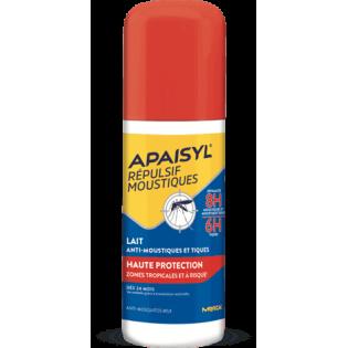 Apaisyl Lait Anti-Moustiques et Tiques 90 ml