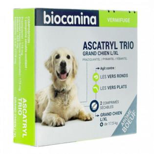 Ascatryl trio grand chien boîte de 2 comprimés
