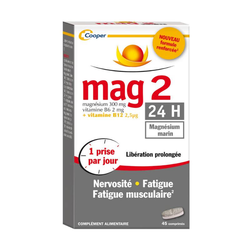 Mag 2 24H boîte de 45 comprimés