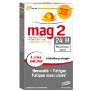 Mag 2 24H boîte de 45 comprimés Nouvelle formule