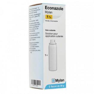 Éconazole 1% Solution Mylan 30 g