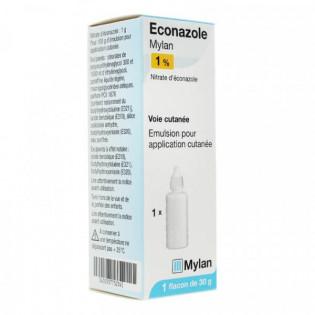 Éconazole 1% Emulsion Mylan 30 g