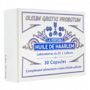 Huile de Haarlem 30 capsules