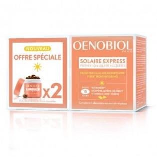 Oenobiol Solaire Express 15 Capsules Lot de 2