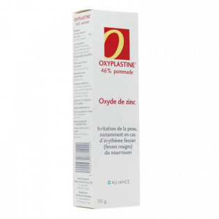 Oxyplastine 46% Pommade à l'oxyde de zinc 135 g