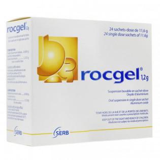Rocgel 1,2 g Suspension Buvable 24 sachets