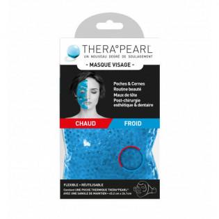 TheraPearl Masque Visage Chaud ou Froid Réutilisable