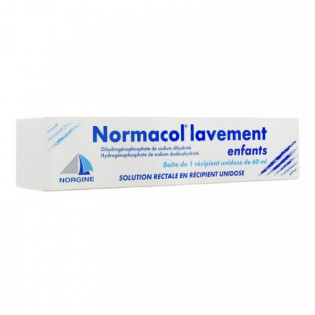 Normacol Lavement Enfants 60 ml