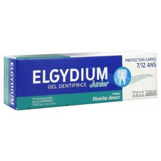 Elgydium Gel Dentifrice Junior 7/12 ans Arôme Menthe Douce 50 ml