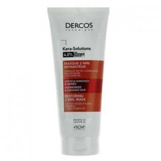 Vichy Dercos Kera-Solutions Masque 2 min Réparateur 200 ml