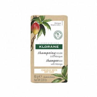Klorane Shampoing Solide à la Mangue 80 g