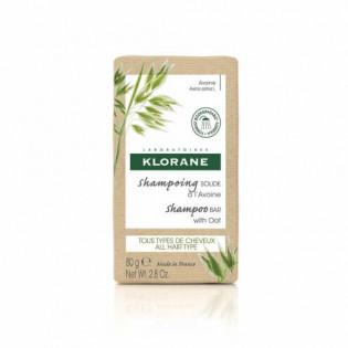 Klorane Shampoing Solide à l'Avoine 80 g