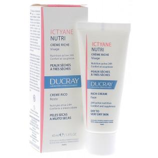 Ducray Ictyane Nutri Crème Riche Visage 40 ml