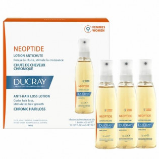 Ducray Neoptide Lotion Antichute Femmes 3x30 ml