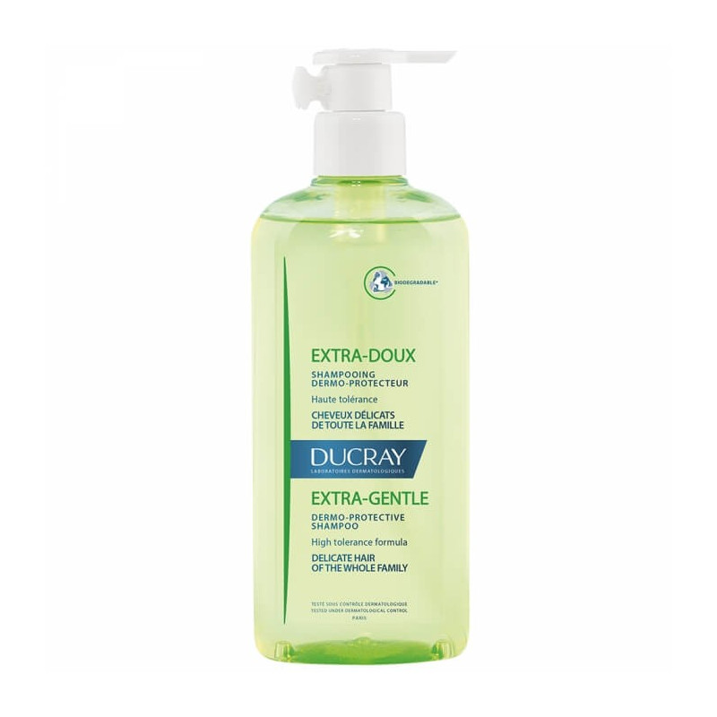 Ducray Shampooing Extra-Doux pompe 400ML