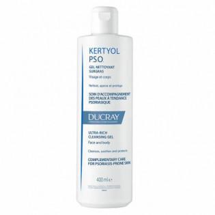 Ducray Kerytol P.S.O Gel Nettoyant Surgras 400 ml