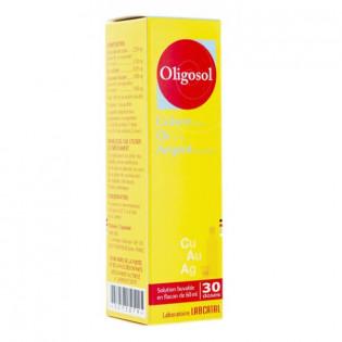 Oligosol Cuivre Or Argent 60 ml