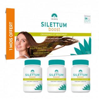 Silettum Boost - Croissance et Résistance - 3 flacons de 60 gélules