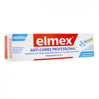 Elmex Anti-Caries Professional Junior 6-12 ans 75 ml