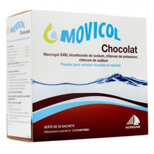 MOVICOL AROME CHOCOLAT 20 SACHETS