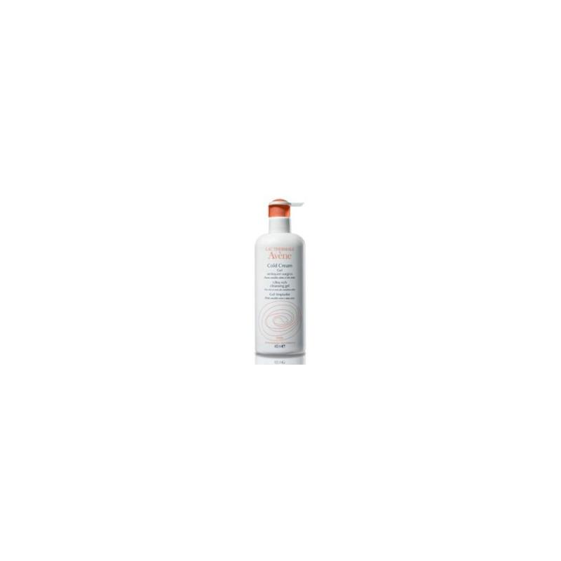 Avène Cold Cream Gel Nettoyant Surgras Format Economique 400 ML