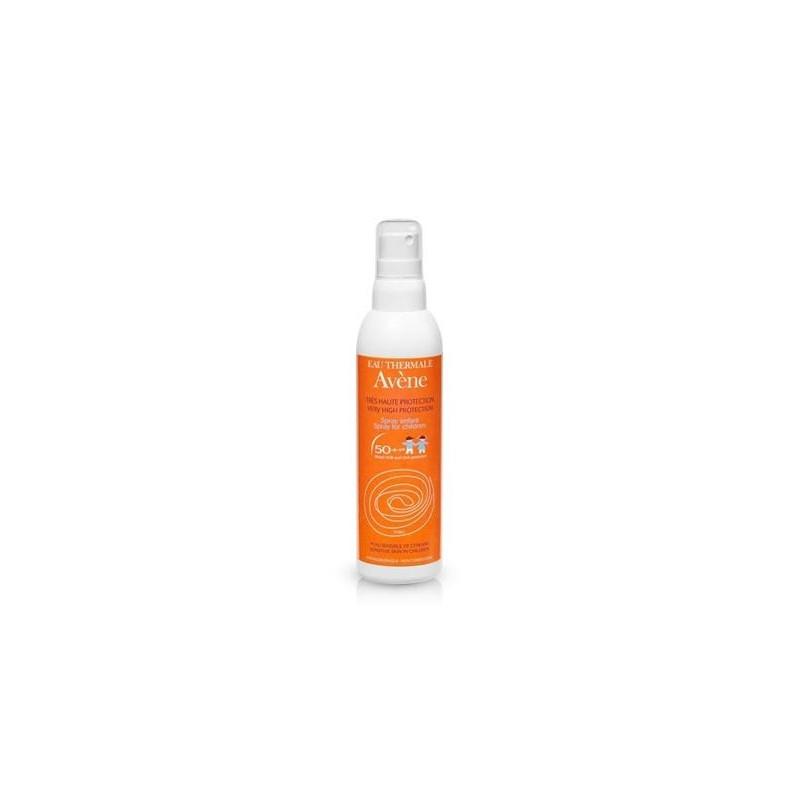 Avène Lait enfant 50+ sans parfum (spray 200ml)