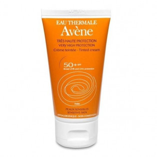 8f88610b094a37 Avène Crème solaire teintée Très Haute Protection 50 + (50ML) - Mon ...