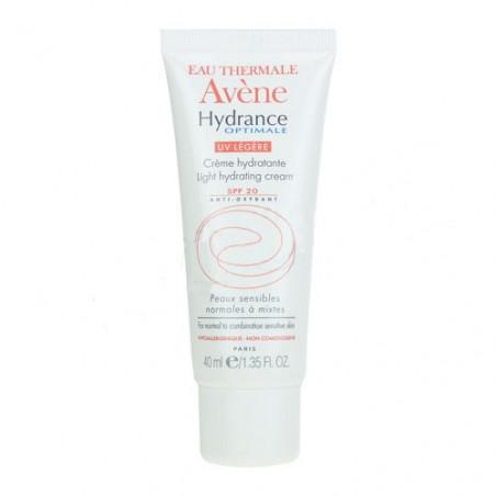 Avène Hydrance OPTIMALE UV Légère Crème Hydratante SPF20. Tube 40ml