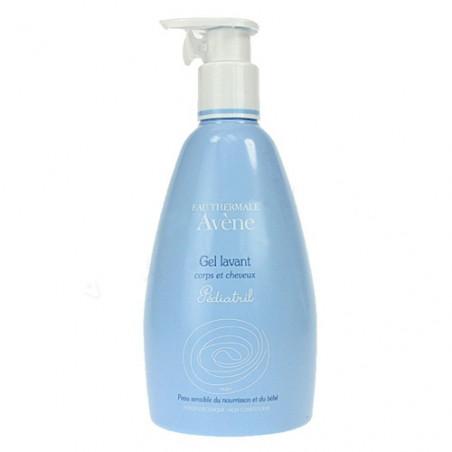 Avène Pédiatril Gel lavant corps et cheveux. Flacon pompe de 500ml