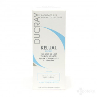 Ducray KELUAL Emulsion croûtes de lait nourrisson. Tube de 50ml
