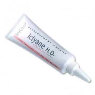 Ducray ICTYANE HD crème émolliente traitante à l'Hydroxydécine. Tube de 50ML
